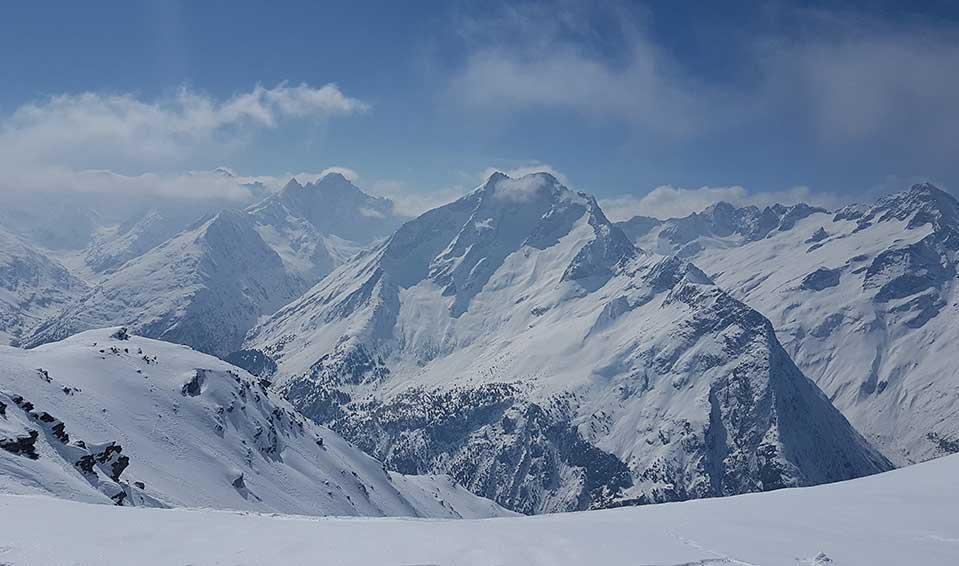 Skimanijaci u Les 2 Alpes