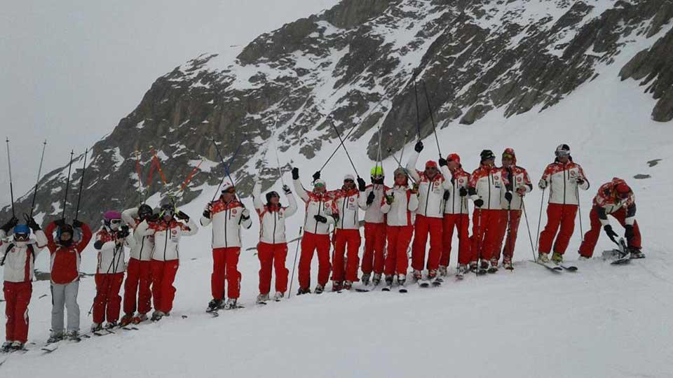 Skimanijaci skijanje Francuska