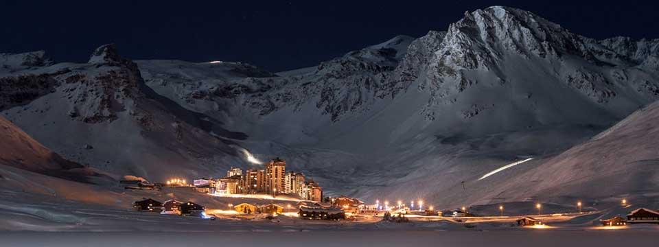 Tignes skijanje
